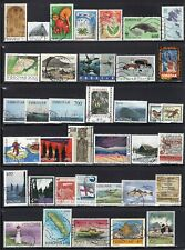 Faroe Islands Selection of 37 Used Stamps CV$50