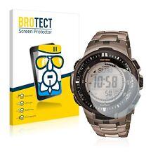 Airglass Glasfolie Casio Protrek prw-3000t-7jf Mens Watch chars Film Vitre de protection