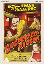 SUSPECTED PERSON DVD Clifford Evans Patricia Roc Lawrence Huntington UK New R2