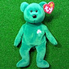 MWMT 1997 Retired Erin The Bear Original TY Beanie Baby - Rare Gosport Swing Tag