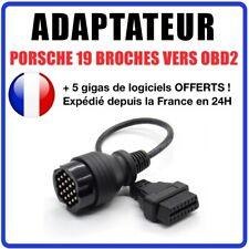 Kabel OBD2 auf 19-pin, kompatibel für Porsche DURAMETRIC