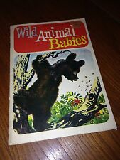 The Golden Press- A Little Silver Book- Baby Animals- Antique1958- Childens Book