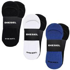DIESEL Füßlinge 2er Pack - SKM-NOSHOW-TWOPACK, Invisible Socks, Unisex, Onesize