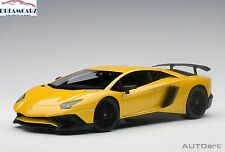 AUTOart 74558 1:18 Lamborghini Aventador LP750-4 SV Giallo Orion (Met. Yellow)