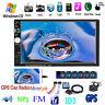 "7"" Car Radio Stereo GPS Navigation  Camera MP5 Player Bluetooth USB SD AUX 2 DIN"