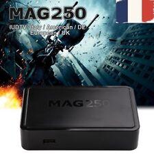 MAG 250 IPTV Décodeur numérique télécommande Lecteur multimédia 1080p USB Wifi