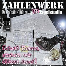 """Ralf Bartsch ZAHLENWERK """"Betriebsführung im Nagelstudio"""" Buch 116 Seiten"""