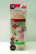 New NIP First Baby Infant Toddler Cup Silicone Soft Spout (330 ml)