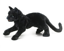 Black Cat Hand Puppet with Movable Mouth, Folkmanis MPN 2987, 3 & Up, Unisex