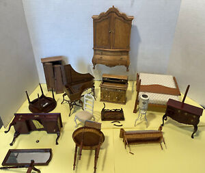 Broken Furniture 4 Repair Most Artisan W/Pieces Bespaq Dollhouse Miniature 1:12