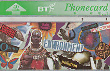 British TELECOM  Phonecard 40 units Environment  327G