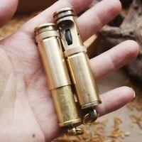 Lighter Retro Fire Torch Grinding Wheel Flint Kerosene Oil Gasoline Windproof