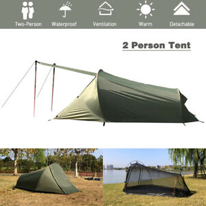 2 Person Camping Tent Outdoor Tents Waterproof Summer Beach Tent For Camping AU