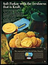1969 Kraft Soft Parkay Margarine Spread Bread Cookies Coupon Vintage PRINT AD