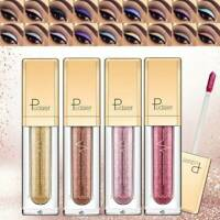 Pudaier DIAMOND Glitter Shimmer Matte Eyeshadow Liquid Eye Shadow 18 Colors