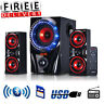 Bluetooth Speaker System Home Audio Stereo Bass Sound Gaming TV PC Computer New