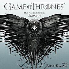 LE TRONE DE FER SAISON 4 (GAME OF THRONES) MUSIQUE SERIE TV - RAMIN DJAWADI (CD)