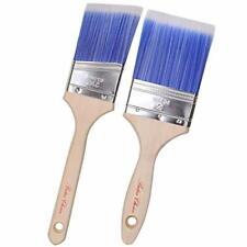 Bates Paint Brushes- 2 Pack, Wood Handle, Paint Brush, Paint Brushes Set  New*