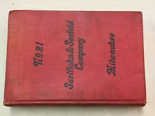 Early 1900s Suelflohn & Seefeld No.21 Carriage & Wagon Hardware Tools Catalog