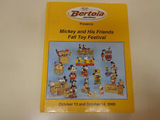 Mickey Mouse and His Friends Fall Toy Festival 2000 Bertoia Auction Tin Toys