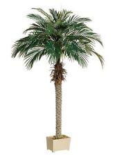 68 inch Artificial Silk Phoenix Palm Tree in Pot Shown Areca 70 Date 5 7 6 Sago