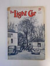 THE LIGHT CAR MAGAZINE 5 MAY 1939 - STANDARD 8 COUPÉ TEST, R.A.C RALLY ++