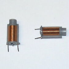 = NEW VALUE  = 1uH average - variable RF inductor vintage Radio Electronic coil