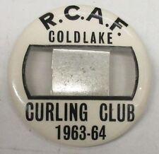 RCAF Royal Canadian Air Force Coldlake Curling Club 1963-64