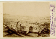 Van Lint. Italie, Pisa, Piazza dei Cavalieri  Vintage albumen print, Italy  Ti