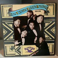"FATS WALLER - Piano Solos - Double Album 12"" Vinyl Record LP - EX (Bluebird)"