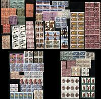 Used USA Stamps Postage Blocks Collection Air Mail Christmas