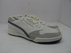 Reebok Men's ACT 600 THOF Classic Court Chalk/Classic White/Pine Green Size 12M