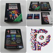 Sensible World of Soccer Neuf Amélioré Pour L'Amiga testé et de travail très bon état
