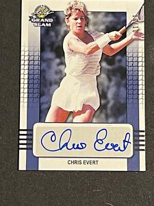 2018 Leaf Grand Slam Tennis Chris Evert Auto Blue (/10)