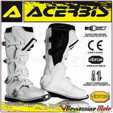 BOTTES ACERBIS X-PRO V. BLANC OFF-ROAD MOTOCROSS MOTO CROSS QUAD ENDURO 43