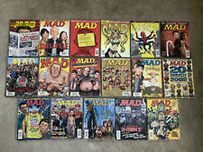 LOT OF 17 MAD MAGAZINES 2002-2003 NEAR MINT CONDITION