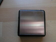 solid steel  block with rubber casing 2.5 x 2.5 inches