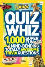 National Geographic Kids Quiz Whiz: 1,000 Super Fu