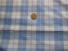 Ancien coupon de tissus à carreaux Vintage - linge ancien