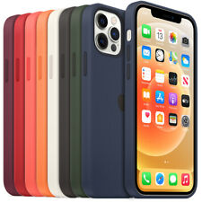 Genuine Liquid Silicone Case Cover for Apple iPhone 12 mini / Pro / Pro Max
