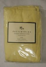 Pottery Barn Baroque Matelasse Euro Sham Yellow 26 x 26 New In Package