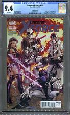 Uncanny X-Force #19 (2/12) CGC 9.4 Bradshaw 1/15 Variant Deadpool, Nightcrawler!