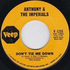 Soul--ANTHONY & THE IMPERIALS--Don't Tie Me Down / Where There's A Will........