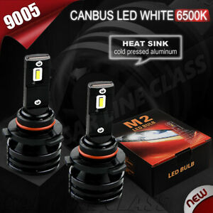 GMC Savana 4500 2x Bulbs 9005 LED Bright 12000LM White 6500K High Beam Headlight