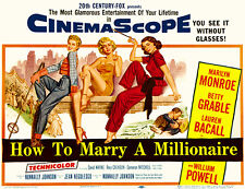 How To Marry A Millionaire - 1953 - Movie Poster