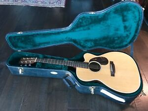 Martin Aura acoustic-Electric Guitar owned by Simon Kirke of Bad Co.