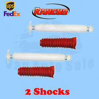 "Rancho RS5000X Rear 0-2"" Lift Shocks for Jeep Wrangler JK 4WD 07-17 Kit 2"