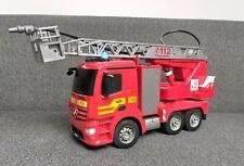Carson Feuerwehr Drehleiter 1:20 Mercedes Antos 2,4GHz wie Neu