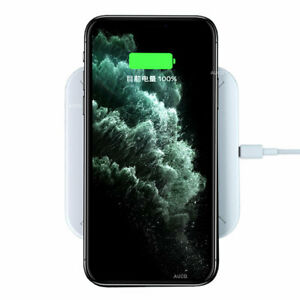 10W Universal Fast Wireless Chargers Docks All QI Wireless Receiver Phones Pad