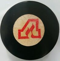 ATLANTA FLAMES VINTAGE VICEROY MADE IN CANADA NHL APPROVED OFFICIAL GAME PUCK